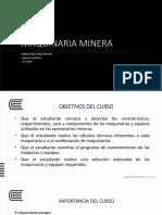 Maq Min 1 Definiciones y Maquinarias de Perforación (0)