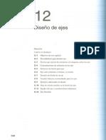 Capítulo 12. Diseño de Ejes. Mott. 4ta Edición