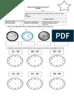 Evaluacion de La Hora