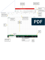 Elementos de La Pantalla Inicial de Excel