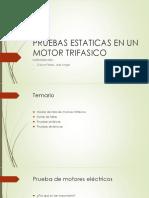 Pruebas Estaticas en Un Motor Trifasico[1]