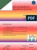 Constante de Equilibrio Químico y Tipos