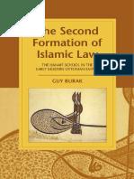 [Cambridge Studies in Islamic Civilization] Guy Burak - The Second Formation of Islamic Law_ The Hanafi School in the Early Modern Ottoman Empire (2015, Cambridge University Press).pdf