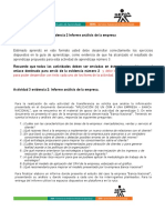 A3-EVIDENCIA 2 INFORME ANÁLISIS DE LA EMPRESA.doc