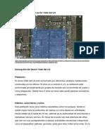 Demografìa Del Sector Valle Del Lili