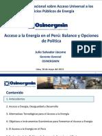 1. Acceso a La Energia en El Peru-Julio Salvador
