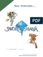 Sword of Mana - Pocket Guide