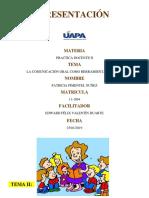 Tema II. La Comunicación Oral Como Herramienta Docente. (1) (1)