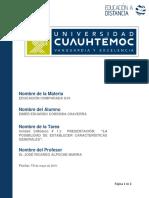 """Eimer_córdoba_presentación """"La Posibilidad de Establecer Características Generales"""