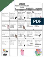 6 - 2019 June Activity Calendar Trollwood