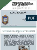 La Corrosión