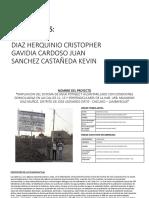 PRIMERA VISITA A CAMPO - SANEAMIENTO.pptx