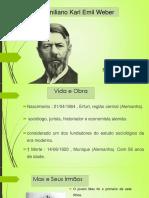 Seminario Max Weber - C. Politica