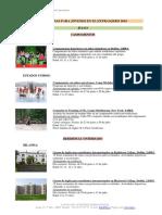Programas en Extranjero LUIS AMIGO 2019