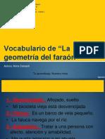 VOCABULARIO-ABRIL-+LA+GEOMETRÍA+DEL+FARAÓN