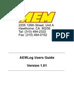 AEMLog Users Manual V1.01
