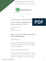 Don Juan Del Dinero Trabajo Para Lograr Dinero y Abundancia Económica