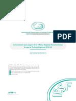 [ESP] Convocatoria Para Cargos de La Oficina Regional Panamericana - Grupo de Trabajo Regional 2019-20
