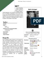 Martin Heidegger - Wikipedia, La Enciclopedia Libre