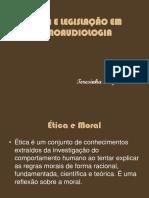 ÉTICA E LEGISLAÇÃO EM FONOAUDIOLOGIA.ppt