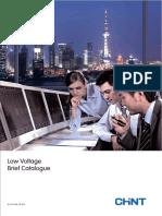 Chint Low Voltage Product Catalogue en 0714