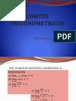 Limites trigonométricos 2019