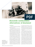 Buscando Comb Alternativos, Bioetanol
