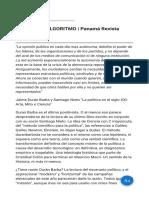 El Hombre Algoritmo Panamá Revista