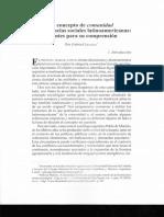 8.Liceaga 2013_ El Concepto de Comunidad en Las Ciencias Sociales Latioamericanas-Apuntes Para Su Comprensión