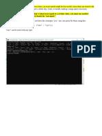 MongoDB Notes