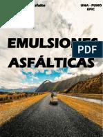 Tecnologia Del Asfalto - Emulsiones Asfalticas - Lunes