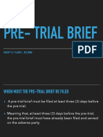 GROUP 12 Pre-Trial Brief