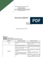 Secuencia Didáctica II