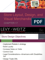 Store Location, Design and Visual Merchandising