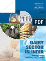 Dairy Sector in India Opportunities in Key States and Products by YES Bank
