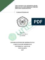 ANALISIS FAKTOR FAKTOR YANG MEMPENGARUHI MINAT PEMERIKSAAN IVA DI PUSKESMAS TRETEP KABUPATEN TEMANGGUNG.pdf