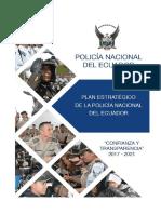 Plan Estratégico Policía Nacioanal 2017 2021