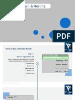 Buying Domain & Hosting