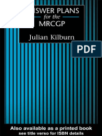 Kilburn, J. - Answer Plans for the MRCGP (2014, CRC Press)