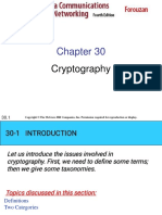 30 Cryptography