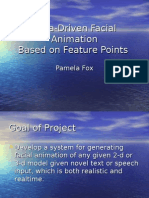 Data-Driven Facial Animation Based on Feature Points