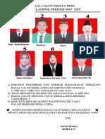 BAKAL CALON KEPALA DESA.doc