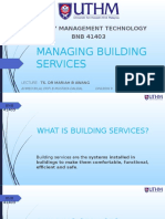 Managing Building Services