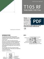 T105RF Manual