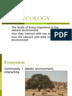 Lec - Ecology