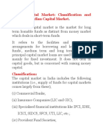 Indian Capital Markets