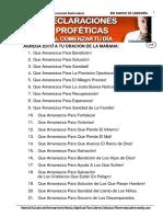 359-19  declaraciones profeticas al amanecer - lic
