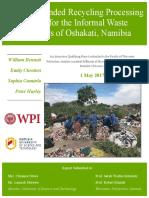 Oshakati IQP FinalReport Namibia2017