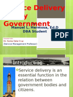 Service Management PPT