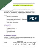 Labo 4 - Dimensionamiento Del Sistema Fotovoltaico